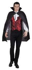 Zwarte Vampiers cape
