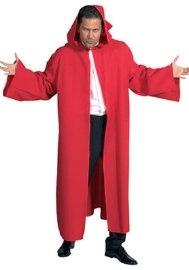Venetiaanse Halloween cape rood
