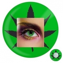 Party lenzen Cannabis Leaf