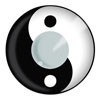 Party contactlenzen Ying Yang
