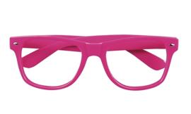 Festival brillen pink 4 stuks