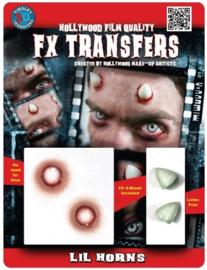 3D FX transfer duivel horens
