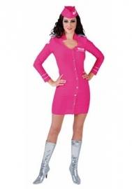 Stewardess Fluor Pink