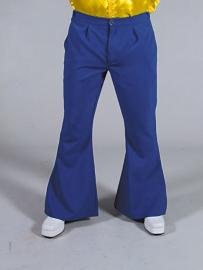 Disco / 70`s wijde pijpen broek blauw