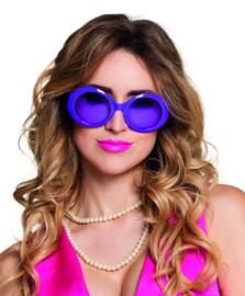 Bril Jackie neon paars