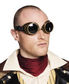 Steampunk goggles bril deluxe