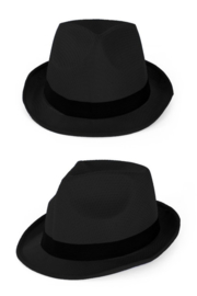 Zwart hoedje tribly
