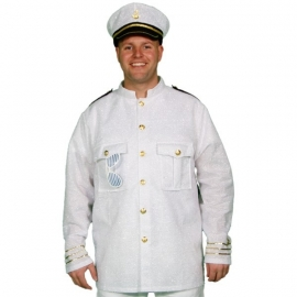Marine jas wit glim