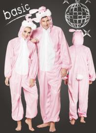 Donzig konijn kostuum