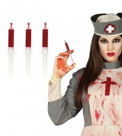 3 ziekenhuis bloedspuiten