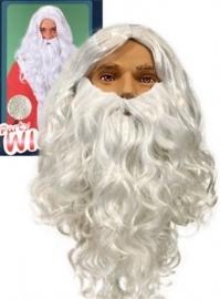Kerstman baard budget