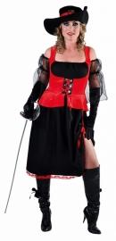 Musketiers jurk deluxe
