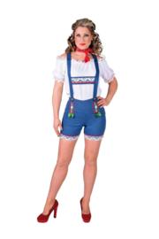 Tiroler hotpants jeans
