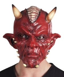 Latex masker evil devil