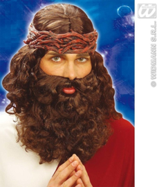 Pruik en baard Jezus