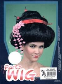 """Pruik """"Geisha"""" luxe"""
