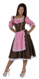 Tiroolse jurk Roos