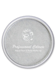 Pro schmink aqua PXP metallic zilver 30gr