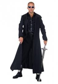 Zwarte lange jas