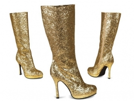Laarzen goud temptation