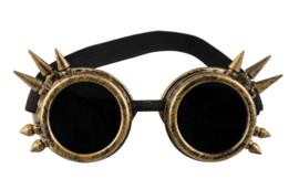 Cyberpunk bril koper deluxe