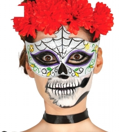 Catrien masker Day of the dead
