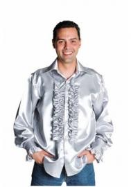 zilveren Roezel blouse disco