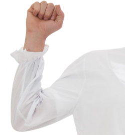 Ouderwets nachthemd wit