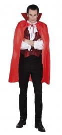 Rode Vampiers cape kort