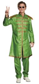 Sergeant pepper kostuum groen