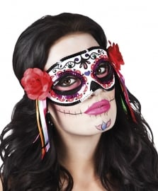 Oogmasker day of the dead deluxe