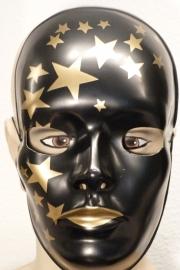 Masker paint golden star