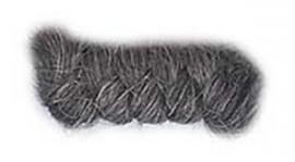 Wolcrepe donkergrijs 10cm
