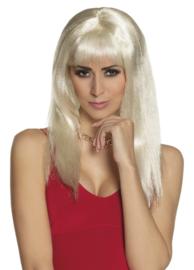 Pruik spicey blond