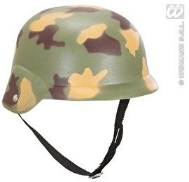 Camouflage helm