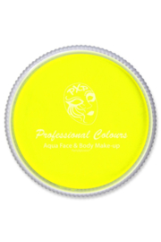 Pro schmink aqua PXP neon geel 30gr