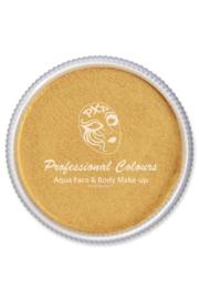 Pro schmink aqua PXP metallic goud 30gr