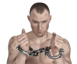 Handboeien gevangene deluxe