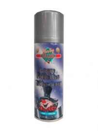 Hairspray glitterzilver 125 ml