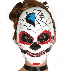 Wit masker Day of the dead