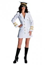 Witte Officiersdame jurk