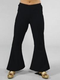 Disco / 70`s wijde broek zwart