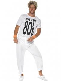 Jaren 80 outfit Wham
