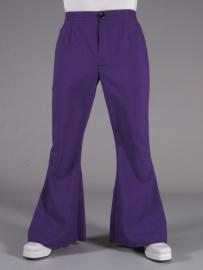 Disco / 70`s wijde pijpen broek paars