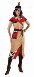 Indianen jurkje lang