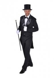Slipjas zwart cabaret