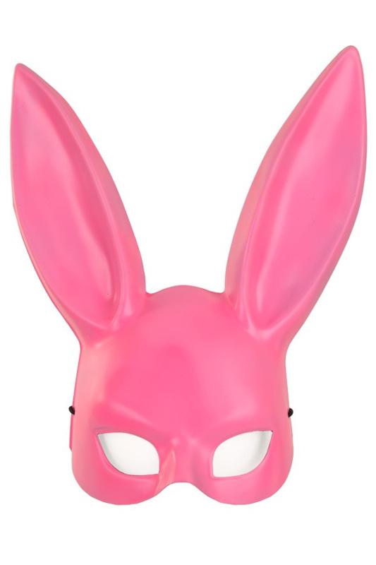Half masker pink konijn