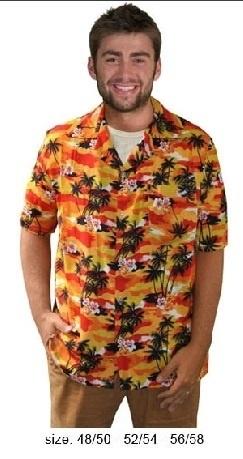 Hawaii shirt tropical