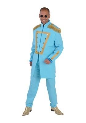 Sgt. Pepper kostuum blauw
