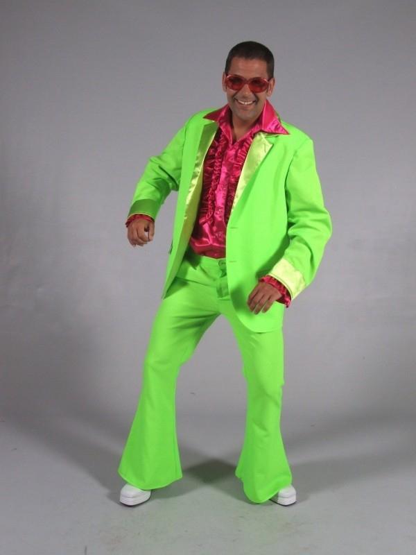 Groen disco pak